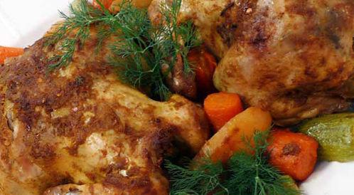 وصفة لتحضير دجاج مشوي بالكيس بطريقة صحية