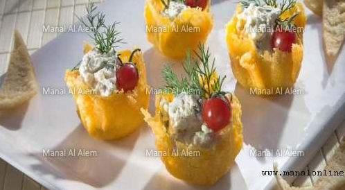 وصفة لتحضير كؤوس الجبن بالجبن بطريقة صحية