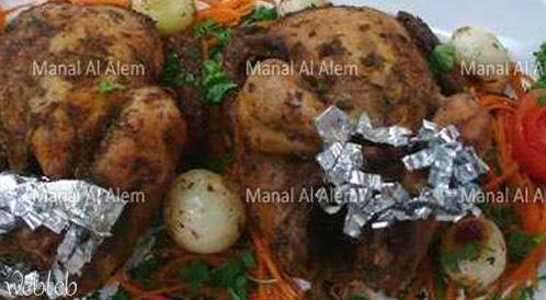وصفة لتحضير دجاج مشوي بطريقة صحية