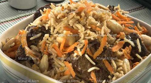 وصفة لتحضير ارز بخاري بطريقة صحية