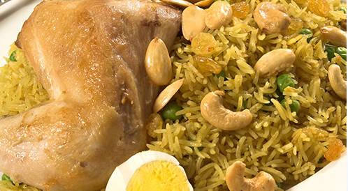 وصفة لتحضير الأرز الكشميري بالدجاج بطريقة صحية
