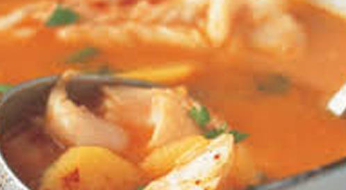 وصفة لتحضير شوربـة السمك بالخضراوات بطريقة صحية