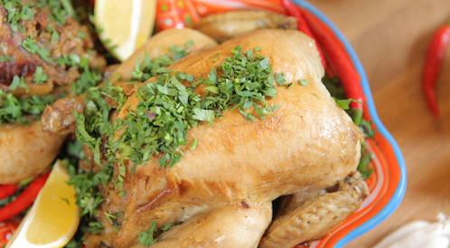 وصفة لتحضير دجاج محشي بالمشروم بطريقة صحية