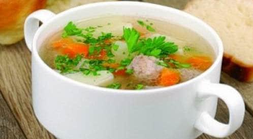 وصفة لتحضير  شوربة الأرز مع البقدونس بطريقة صحية
