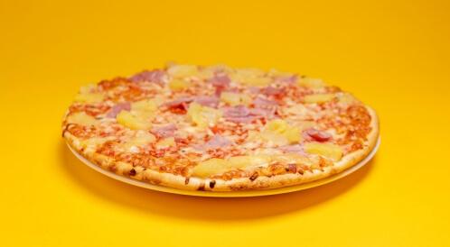 البيتزا بالسميد