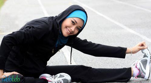شاهدوا بالصور: الرياضة في رمضان