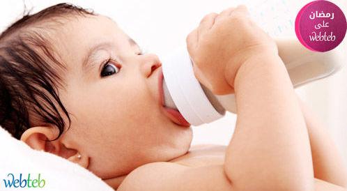 شاهدوا بالصور: الرضاعة الطبيعية في رمضان
