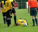 الاصابات في كرة القدم!