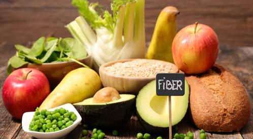 عرض الشرائح: الدليل إلى نظام غذائي غني بالألياف