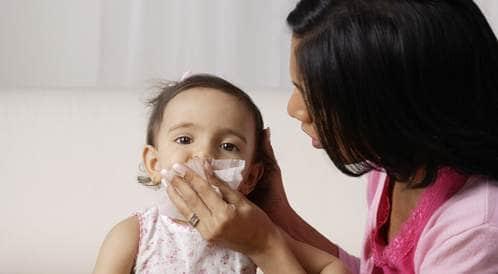 علاج البرد والزكام لدى الاطفال
