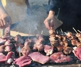 تناول اللحوم في العيد