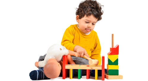 اعراض التوحد لدى الرضع