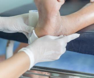 أعراض القدم السكرى بالصور
