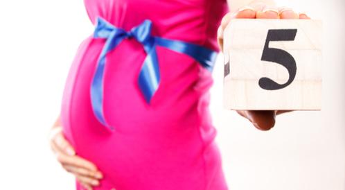 الشهر الخامس من الحمل بالصور