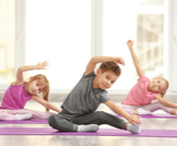 تمارين رياضية للاطفال بالصور