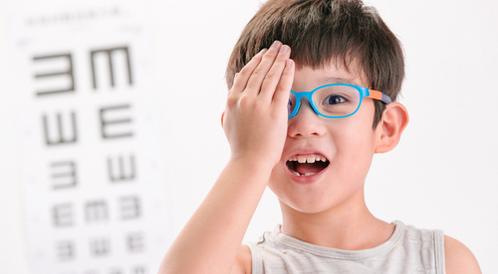 أمراض العيون عند الأطفال بالصور