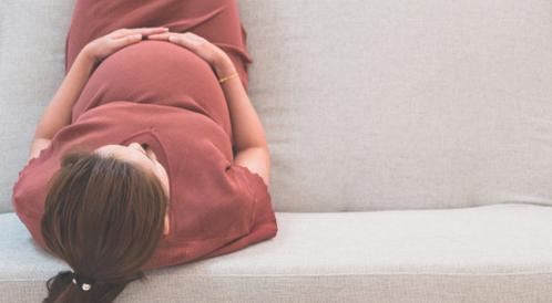 شكل بطن الحامل بالصور