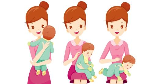 طرق تشجؤ الطفل الرضيع بالصور