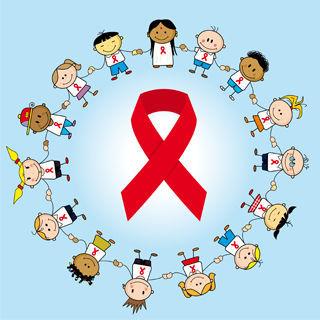 اعراض مرض الايدز لدى الاطفال