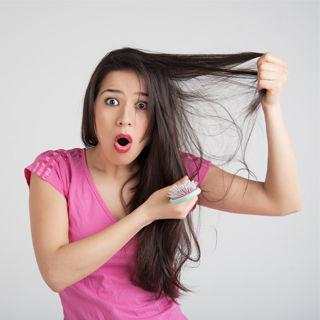 تقليل تساقط الشعر