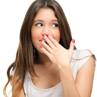 ازالة رائحة الفم