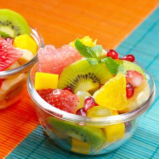 الفاكهة وسلطة الفواكهة