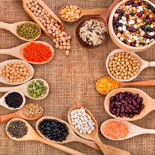 البقوليات والحبوب الكاملة