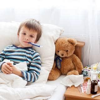 خفض الحرارة عند الاطفال