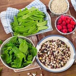 الاطعمة الغنية بالالياف الغذائية