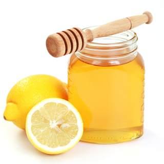 العسل والليمون