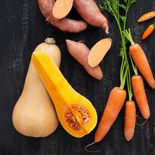 الخضار البرتقالية