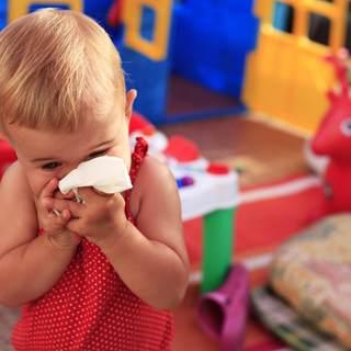 منع تواجد طفل مريض في الروضة