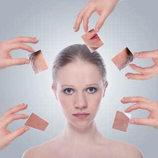 مشاكل الشعر والبشرة لدى الفتيات