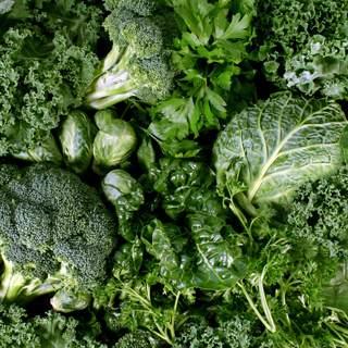 الخضروات ذات الأوراق الداكنة