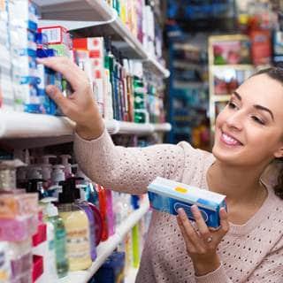 منتجات دون وصفة طبية