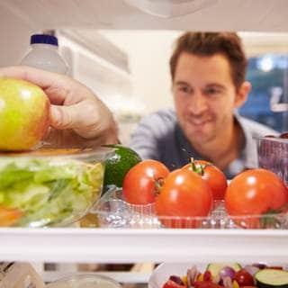 أعد تخزين المواد الغذائية