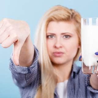 أضرار الحليب