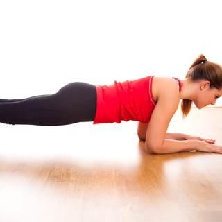 تمرين بلانك (Plank)