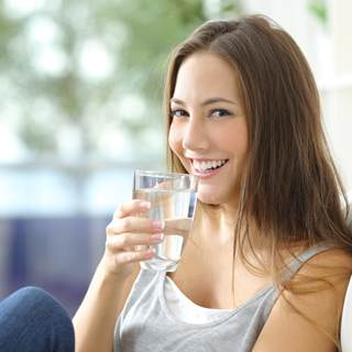 لا تشرب ما يكفي من الماء