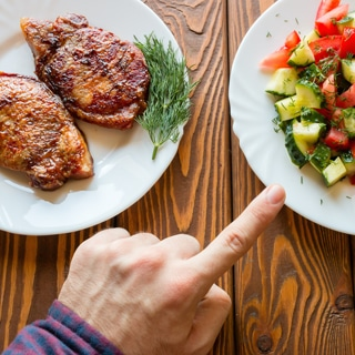 إعداد اللحوم بطريقة صحية