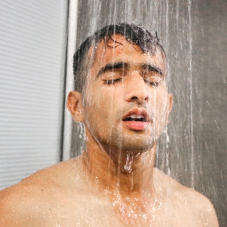 الاستحمام في الشتاء