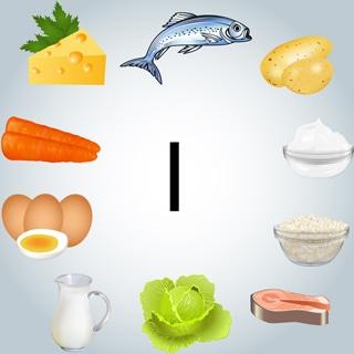 هل يمكن الحصول على اليود من الغذاء؟