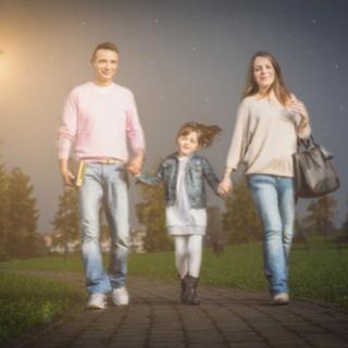 امشي مع طفلك قبل النوم