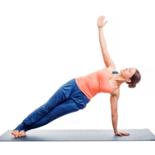 التمارين الجانبية على الألواح