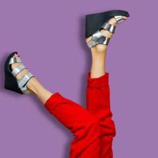 احذية المنصة العالية