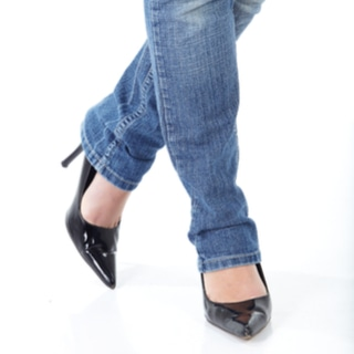 حذاء مدبب من الأمام (Pointy Toes)