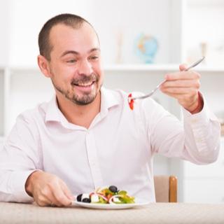تناول الطعام بشكل سليم