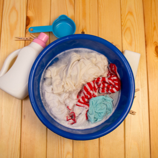 استخدام منظف الغسيل المعطر