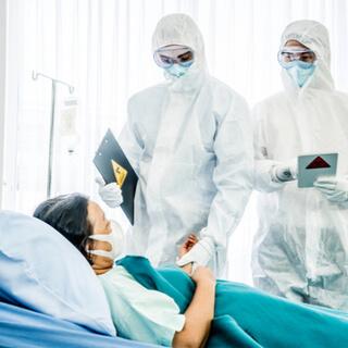 التعامل مع المصابين بمرض فيروس كورونا المستجد
