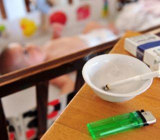 مضار التدخين السلبي على صحة قلوب الاطفال